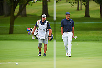 Bryson DeChambeau (USA) makes his way to the green on 11 during Rd4 of the 2019 BMW Championship, Medinah Golf Club, Chicago, Illinois, USA. 8/18/2019.<br /> Picture Ken Murray / Golffile.ie<br /> <br /> All photo usage must carry mandatory copyright credit (© Golffile | Ken Murray)