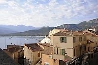 - Corsica, Calvi, view of the city<br /> <br /> - Corsica, Calvi, veduta della citt&agrave;