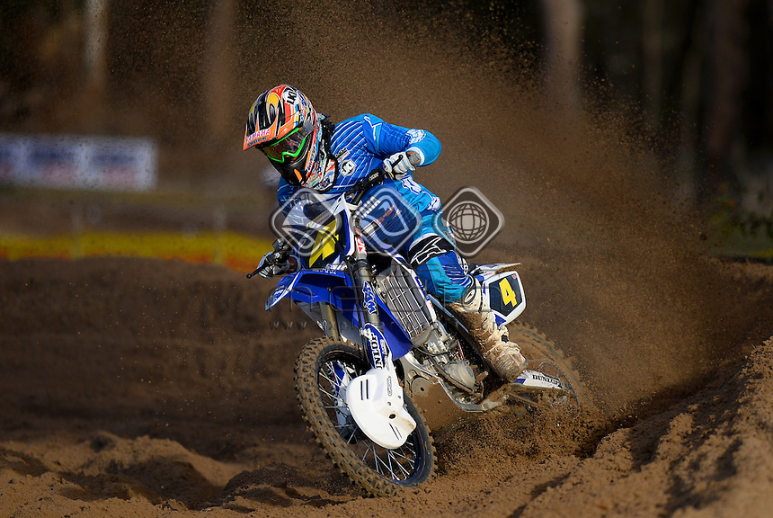 Nathan Crawford / 13 - 15 Rookies<br /> Monster Energy MX Nationals <br /> 2013 Motorcross Championships<br /> Round 7 / Hervey Bay QLD<br /> Sunday July 28th 2013<br /> &copy; Sport the library/Jeff Crow