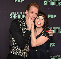 "HOLLYWOOD - MAY 22: Moderator Kristen Schaal and cast member Doug Jones attend FX's ""What We Do in the Shadows"" FYC event at Avalon Hollywood on May 22, 2019 in Hollywood, California. (Photo by Frank Micelotta/FX/PictureGroup)"