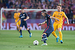 Atletico de Madrid's Filipe Luis and FC Barcelona Ivan  Rakitic during Champions League 2015/2016 Quarter-Finals 2nd leg match. April 13, 2016. (ALTERPHOTOS/BorjaB.Hojas)