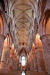 The Nave of Kirkwall Cathedral, Orkney Islands, Scotland