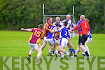Tensions flair between Charlie Kerins and Duagh in the Division 7 Junior Final held last Friday evening in Castleisland.
