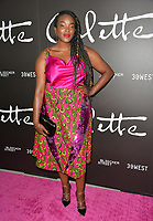 LOS ANGELES, CA. September 14, 2018: Wunmi Mosaku at the premiere for &quot;Colette&quot; at The Academy's Samuel Goldwyn Theatre.<br /> Picture: Paul Smith/Featureflash