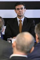 SÃO PAULO, SP, 05.02.2019: POLÍTICA-SP: Rodrigo Garcia, Vice Governador de São Paulo, participa de anuncio de pacote de medidas para o setor de transporte aéreo, no Palácio dos Bandeirantes, nesta terça-feira, 5. ( Foto: Charles Sholl/Brazil Photo Press)