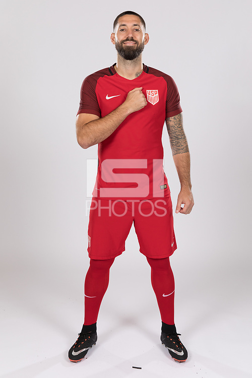 San Jose, CA - March 28, 2017: The USMNT Photoshoot. San Jose.