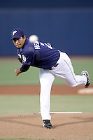Pedro Hernandez - AZL Padres (2009 Arizona League)..Photo by:  Bill Mitchell/Four Seam Images..