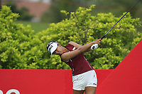 Jenny Shin (KOR) in action on the 3rd during Round 2 of the HSBC Womens Champions 2018 at Sentosa Golf Club on the Friday 2nd March 2018.<br /> Picture:  Thos Caffrey / www.golffile.ie<br /> <br /> All photo usage must carry mandatory copyright credit (&copy; Golffile | Thos Caffrey)