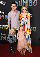 11 March 2019 - Hollywood, California - Beverly Mitchell. &quot;Dumbo&quot; Los Angeles Premiere held at Ray Dolby Ballroom. Photo <br /> CAP/ADM/BT<br /> &copy;BT/ADM/Capital Pictures