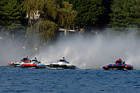 "Dylan Runne, H-12 ""Pleasure Seeker"", H-8 ""Last Minute Again"", Bobby King, H-242, Marc Lecompte, H-104    (H350 Hydro) (5 Litre class hydroplane(s)"