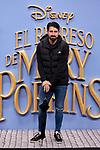 Ruben de la Red attends to Mary Poppins Returns film premiere at Kinepolis in Pozuelo de Alarcon, Spain. December 11, 2018. (ALTERPHOTOS/A. Perez Meca)