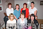 Kit Ryan, Kevin Barry's Villas, Tralee (seated centre) dined in Bella Bia, Tralee last Saturday night on the occasion of her birthday seated l-r: Leanne and Kit Ryan with Ann O'Brien. Back l-r: Jane Hurley, Noreen O'Leary, Joan Pototzki and Eileen Moriarty.