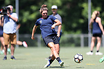 CARY, NC - JULY 06: Kat McDonald. The North Carolina Courage held a training session on July 6, 2017, at WakeMed Soccer Park Field 3 in Cary, NC.