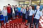Attending the new Law seminar for 1st year students in the Kerry College of Further Education on Monday.<br /> L-r, John Nagle (Rathmore), Alan Murphy (Glenflesk), Derek Cronin (Fossa), Eoghan O&rsquo;Connor (Killorglin), Tom Carey (Killorglin) and Rebecca McDaid (Tralee) and Gda Mary Gardener, Gda Aidan Mahoney, Mary Lucey (Principal) and Gda Sean O&rsquo;Sullivan.