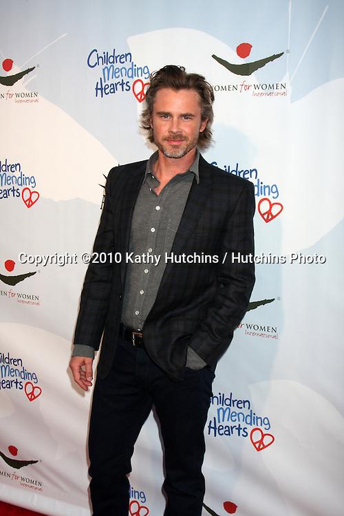 "Sam Trammell.arrives at the Children Mending Hearts 3rd ""Peace Please"" Gala.Music Box @ Fonda .Los Angeles, CA.April 16, 2010.©2010 Kathy Hutchins / Hutchins Photo..."