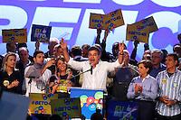 CURITIBA, PR, 29.06.2014 -  CONVENÇÃO PSDB - PR / CURITIBA  - O governador Beto Richa durante o discurso na convenção d0 PSDB-PR  nesta manhã de domingo (29) na sede do Paraná Clube, a convenção estatual do partido para oficialização da sua candidatura de reeleição do governado do estado do Paraná. (Foto: Paulo Lisboa / Brazil Photo Press)