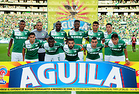 CALI - COLOMBIA - 24 - 09 - 2017: Los jugadores de Deportivo Cali, posan para una foto, durante partido de la fecha 13 entre Deportivo Cali y Deportes Tolima, por la Liga Aguila II- 2017, jugado en el estadio Deportivo Cali (Palmaseca) de la ciudad de Cali. / The players of Deportivo Cali, pose for a photo, during a match of the date 13th between Deportivo Cali and Deportes Tolima, for the Liga Aguila II- 2017 at the Deportivo Cali (Palmaseca) stadium in Cali city. Photo: VizzorImage  / Nelson Rios / Cont.