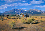 Abandoned Homestead, Eastern Flank, Sierra Nevada Range, California