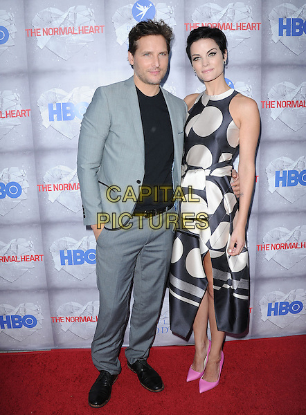 Jaimie Alexander and Peter Facinelli attends The HBO L.A. Premiere of The Normal Heart held at The WGA in Beverly Hills, California on May 19,2014                                                                               <br /> CAP/DVS<br /> &copy;DVS/Capital Pictures