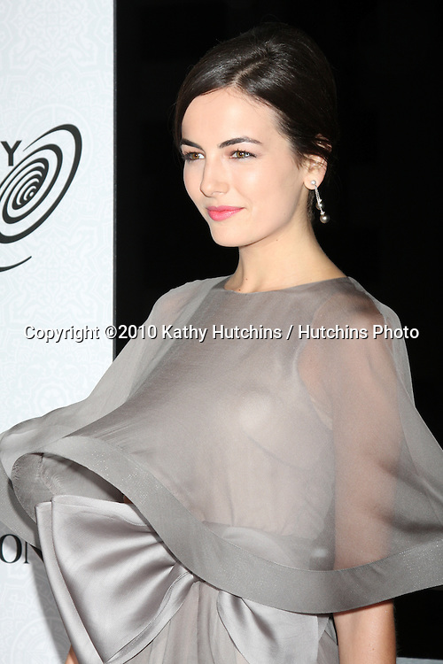 Camille Belle.arriving at the 3rd Annual Art of Elysium Gala.Rooftop of Parking Garage across from Beverly Hilton Hotel.Beverly Hills, CA.January 16, 2010.©2010 Kathy Hutchins / Hutchins Photo....