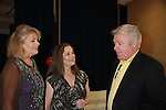 """One Life To Live Jerry verDorn (GL) and Kathleen Kellaigh """"Lanie Marler"""" and Denise Pence at the Daytime Stars and Strikes Charity Event to benefit the American Cancer Society at the Bowlmore Lanes, New York City, New York featuring actors from One Life To Live and Guiding Light hosted by Jerry verDorn and Liz Keifer. (Photo by Sue Coflin/Max Photos)"""
