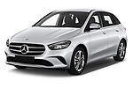 2019 Mercedes Benz B-Class - 5 Door Mini Mpv Angular Front stock photos of front three quarter view