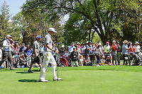 Justin Thomas (USA) makes his way down 8 during round 4 of the World Golf Championships, Mexico, Club De Golf Chapultepec, Mexico City, Mexico. 3/5/2017.<br /> Picture: Golffile | Ken Murray<br /> <br /> <br /> All photo usage must carry mandatory copyright credit (&copy; Golffile | Ken Murray)