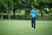 Fabrizio Zanotti (PAR) during the 3rd round of the AfrAsia Bank Mauritius Open, Four Seasons Golf Club Mauritius at Anahita, Beau Champ, Mauritius. 01/12/2018<br /> Picture: Golffile | Mark Sampson<br /> <br /> <br /> All photo usage must carry mandatory copyright credit (© Golffile | Mark Sampson)