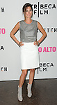 CC Sheffield arriving at the Los Angeles Premiere of Palo Alto, held at Directors Guild of America May 5, 2014.