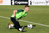 Republic of Ireland & Liverpool goalkeeper, Caolmhin Kelleher warms up ahead of kick-off during Republic Of Ireland Under-21 vs Mexico Under-21, Tournoi Maurice Revello Football at Stade Parsemain on 6th June 2019