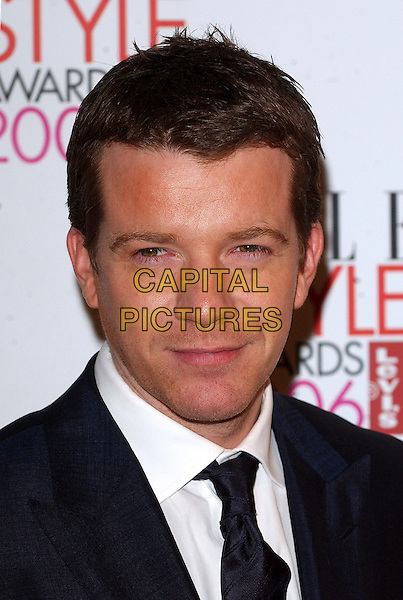 MAX BEESLEY.The Elle Style Awards 2006, Atlantis Gallery, Old Truman Brewery, Brick Lane, London, UK..February 20th, 2006 .Ref: BEL.headshot portrait .www.capitalpictures.com.sales@capitalpictures.com.© Capital Pictures.