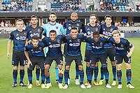 Santa Clara, CA - Saturday, August 19, 2017: San Jose Earthquakes tied Philadelphia Union 2-2 at the Avaya Stadium in Santa Clara.
