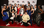 """The cast attends the opening night performance after party for the MCC Theater's 'Alice By Heart' at Kenneth Cole's """"The Garage"""" on February 26, 2019 in New York City."""