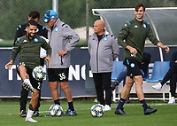 4th November 2019; Castelvolturno training center , Campania, Italy; UEFA Champions League Group Stage Football, Napoli versus Red Bull Salzburg, Napoli Training: Lorenzo Insigne of Naples - Editorial Use