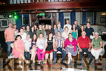 Julie McGlinchey, Tralee, celebrates her 30th Birthday with family and friends at the Meadowlands Hotel on Saturday