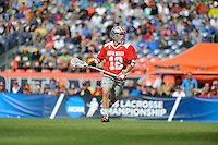 The Ohio State University men's lacrosse team compete in the super eight round of the NCAA Tournament, in Denver, CO. May 16, 2015