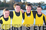 CREW: Muckross RC crew Shane McCarthy, Brian Ford, Keith Leniston and Martin Murphy who rowed in the Kerry Head of the River Rowing competition in Killorglin last Saturday..