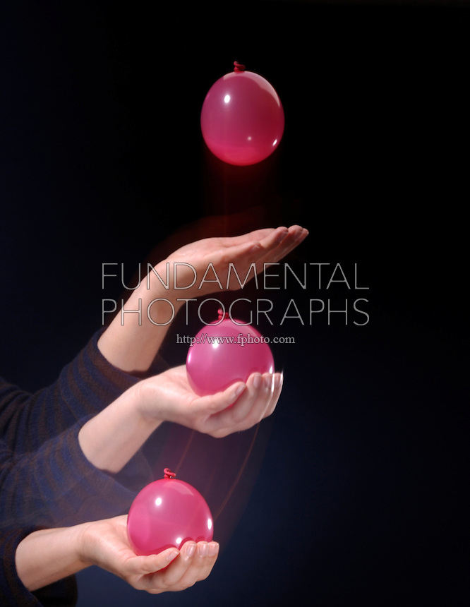 WATER BALLOON CATCH- IMPULSE MOMENTUM THEORY<br /> Slowing a Fast Moving Object<br /> Pulling your arm in as you catch the balloon will lengthen the collision time and reduce the force on the balloon to prevent bursting it. If the duration of collision is increased, the force of impact is decreased.