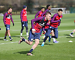 England's Jamie Vardy in action during training at the Tottenham Hotspur Training Centre.  Photo credit should read: David Klein/Sportimage