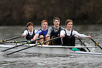 Crew: 4 - Kings Sch Worcs - Junior.4x-<br /> <br /> Head of the Severn (University of Worcester) 2017<br /> <br /> To purchase this photo, or to see pricing information for Prints and Downloads, click the blue 'Add to Cart' button at the top-right of the page.