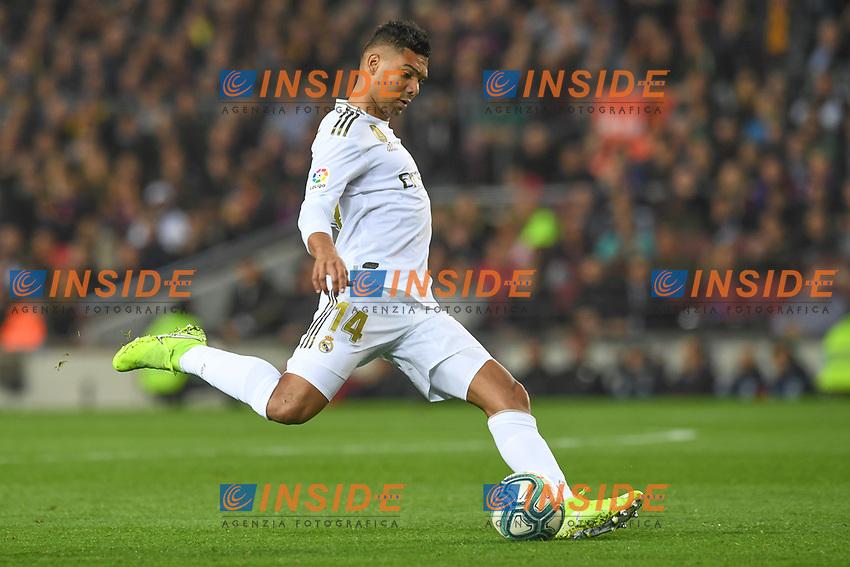Casemiro<br /> 18/12/2019 <br /> Barcelona - Real Madrid<br /> Calcio La Liga 2019/2020 <br /> Photo Paco Largo Panoramic/insidefoto <br /> ITALY ONLY