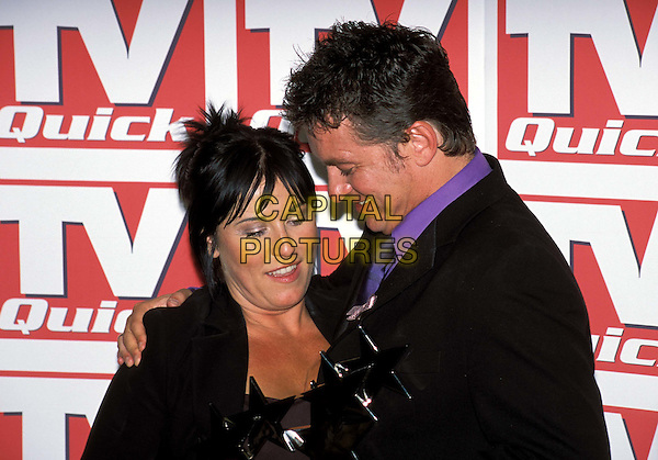 JESSIE WALLACE & SHANE RICHIE - SHANE RITCHIE.TV Quick Awards at The Dorchester Hotel.www.capitalpictures.com.sales@capitalpictures.com.© Capital Pictures.