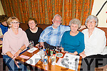 Enjoying the Fundraising Quiz night in aid of Amy at the Na Gaeil Clubhouse on Thursday were Jean McCann, Nora Clifford, Brendan Dineen, Mary Dineen and Mary O'Donnell