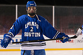 Josh Haverstrom (UMB - 2) - The UMass Boston Beacons defeated the Babson College Beavers 5-1 on Thursday, January 12, 2017, at Fenway Park in Boston, Massachusetts.