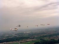 Mei 1995. Stampe en Vertongen vliegtuigen.