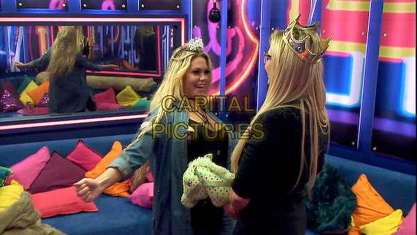 Celebrity Big Brother 2017<br /> Bianca Gascoigne, Nicola McLean<br /> *Editorial Use Only*<br /> CAP/KFS<br /> Image supplied by Capital Pictures