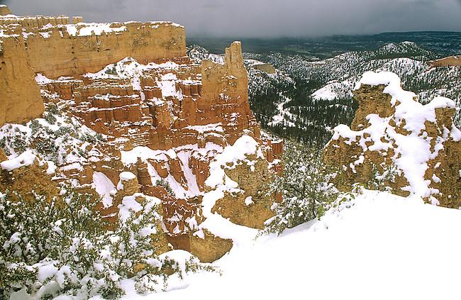 Winter, Bryce Canyon National Park, Utah