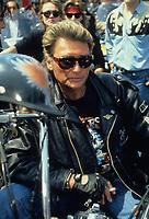 JOHNNY HALLYDAY<br /> 1990<br /> &copy; CAMHI/ DALLE