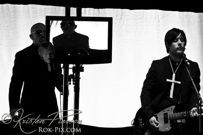 Puscifer perform at Berklee Performance Center, Boston, MA, March 15, 2010
