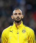 Dortmund's Omer Toprak in action during the champions league match at Wembley Stadium, London. Picture date 13th September 2017. Picture credit should read: David Klein/Sportimage
